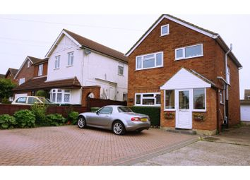Thumbnail 3 bed detached house for sale in School Road, Ashford