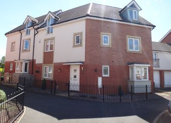 Thumbnail 3 bed town house for sale in Onyx Crescent, Off Humberstone Lane, Leicester