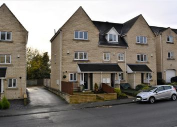 Thumbnail 3 bed end terrace house for sale in Prospect Road, Longwood, Huddersfield