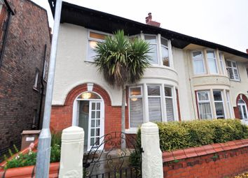 Thumbnail 4 bed semi-detached house for sale in Lymington Road, Wallasey