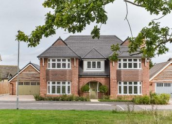 Thumbnail 5 bed detached house for sale in Hedgerow Grove, Dunmow
