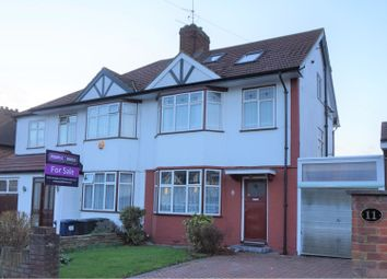 Thumbnail 4 bed semi-detached house for sale in Stoneyfields Lane, Edgware
