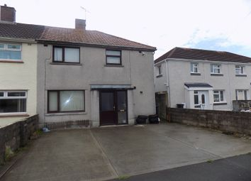 Thumbnail 3 bedroom semi-detached house for sale in Farmfield Avenue, Sandfields Estate, Port Talbot, Neath Port Talbot.
