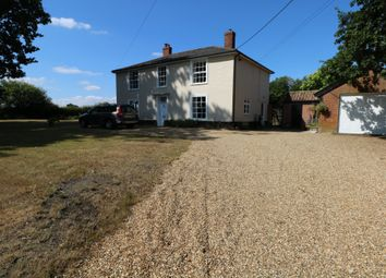 Thumbnail 4 bed farmhouse to rent in Burston Road, Dickleburgh, Diss