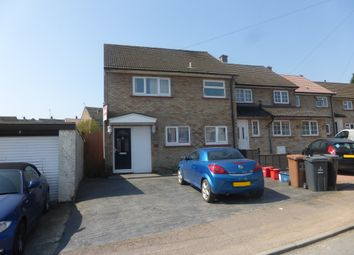 Thumbnail 2 bed end terrace house for sale in Cavell Walk, Stevenage