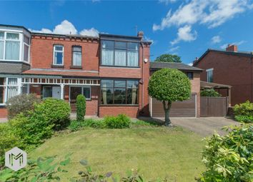Thumbnail 4 bedroom semi-detached house for sale in Markland Hill Lane, Heaton, Bolton, Lancashire