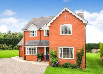 Thumbnail 3 bed detached house for sale in Burley Gate, Hereford