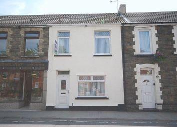 Thumbnail 3 bed terraced house for sale in High Street, Glynneath, Neath