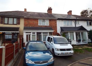 Thumbnail 3 bed terraced house for sale in Wigmore Grove, Birmingham, West Midlands