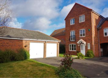 Thumbnail 4 bed link-detached house for sale in Cloverfield, Newcastle Upon Tyne