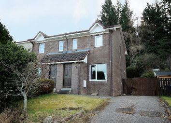 Thumbnail 2 bed semi-detached house for sale in 7 Lochlann Avenue, Culloden, Inverness