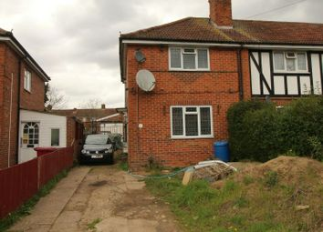 Thumbnail 2 bedroom end terrace house for sale in Torrington Road, Reading