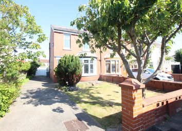 3 bed semi-detached house for sale in Clifton Crescent, Blackpool, Lancashire FY3