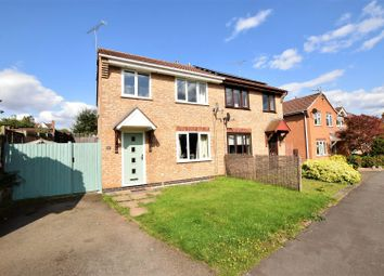 Thumbnail 3 bed semi-detached house for sale in Kestrel Road, Oakham