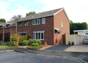 Thumbnail 3 bed semi-detached house for sale in Kiln Way, Polesworth, Tamworth