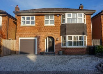Thumbnail 4 bed detached house for sale in Vicarage Avenue, Cheadle Hulme