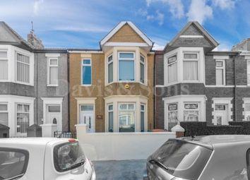 Thumbnail Terraced house for sale in Milman Street, Newport, Gwent.
