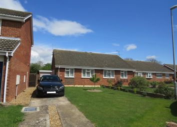 Thumbnail 2 bed semi-detached bungalow for sale in Holmfield Drive, Raunds, Wellingborough