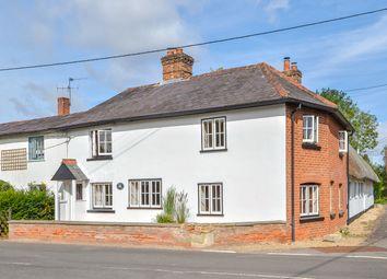 Thumbnail 4 bed semi-detached house for sale in Sugar Lane, Longparish, Andover