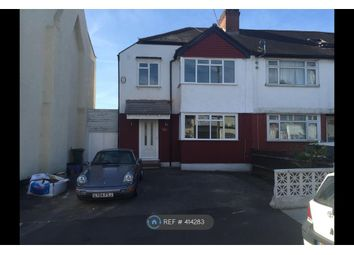 Thumbnail 4 bed end terrace house to rent in Crusoe Road, Surrey