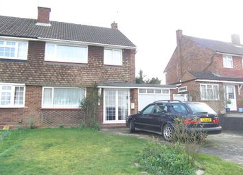 Thumbnail 3 bed semi-detached house for sale in Cornfield Road, Bushey