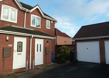 Thumbnail 2 bed semi-detached house for sale in Celandine, Tamworth