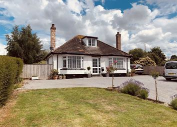 Taunton Road, Pedwell, Somerset TA7. 3 bed detached bungalow for sale
