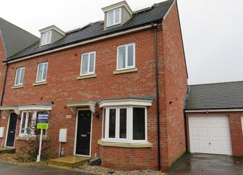 Thumbnail 4 bed end terrace house for sale in Creed Road, Oundle, Peterborough