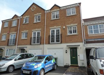 Thumbnail 3 bed town house for sale in Wellington Close, Stafford, Staffs