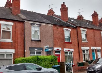 Thumbnail 4 bed terraced house to rent in Newcombe Road, Earlsdon, Coventry