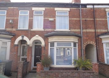 Thumbnail 3 bed terraced house for sale in Walgrave Street, Hull