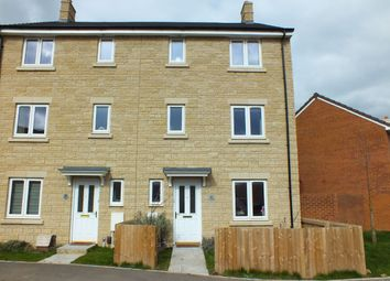 Thumbnail 4 bed town house for sale in Mascroft Road, Paxcroft Mead, Trowbridge, Wiltshire