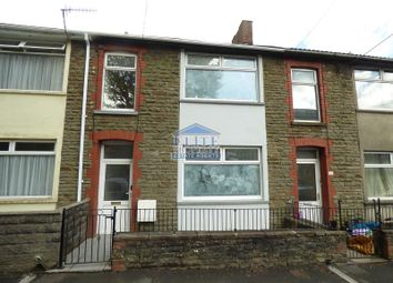 Thumbnail 3 bed terraced house for sale in Dunraven Place, Ogmore Vale, Bridgend .