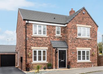 Thumbnail 4 bed detached house for sale in Southlands Close, South Milford, Leeds
