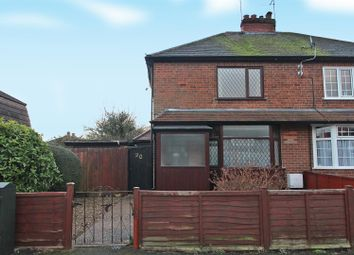 Thumbnail 3 bed semi-detached house for sale in Florence Road, Gedling, Nottingham
