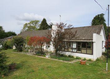Thumbnail 3 bedroom detached bungalow for sale in Hangersley Hill, Hangersley, Ringwood