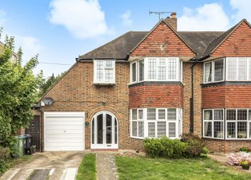 Thumbnail 3 bedroom semi-detached house for sale in Beechcroft Avenue, Coombe, Kingston Upon Thames