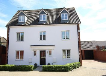 Thumbnail 5 bed detached house for sale in Sorrell Close, Barham, Ipswich, Suffolk