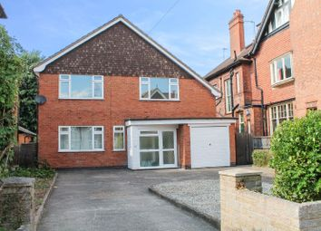 Thumbnail 4 bed detached house for sale in Springfield Road, Stoneygate, Leicester