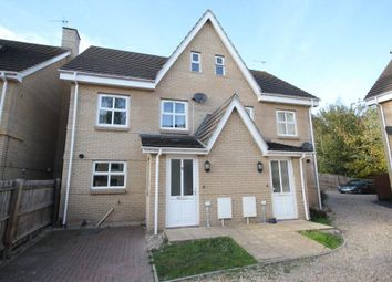 Thumbnail 3 bed detached house for sale in Hodson Close, Soham, Ely