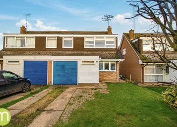 Thumbnail 4 bed semi-detached house for sale in Grantham Road, Great Horkesley, Colchester