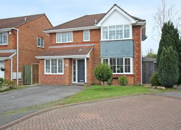 Thumbnail 4 bed detached house for sale in Blann Close, Nursling, Southampton