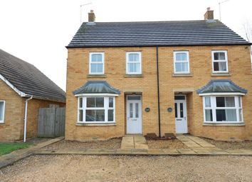 Thumbnail 3 bed semi-detached house for sale in Spalding Road, Deeping St James, Market Deeping, Lincolnshire