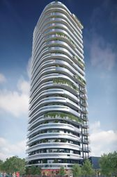 Thumbnail 1 bed flat for sale in Gateway Tower, Royal Victoria Residence, London