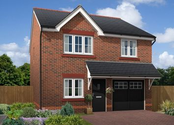 "Thumbnail 3 bed detached house for sale in ""Marford"" at Main Road, New Brighton, Mold"