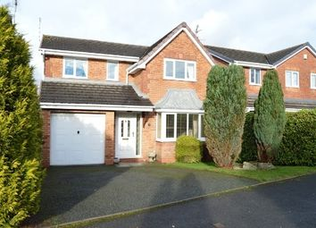 Thumbnail 4 bed detached house to rent in Fresian Gardens, Newcastle, Newcastle-Under-Lyme