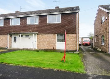 Thumbnail 3 bed semi-detached house for sale in Taplin Close, Stafford