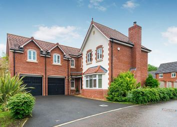 Thumbnail 5 bed detached house to rent in Ellwood Gardens, Shevington, Wigan