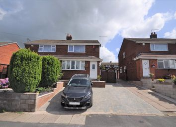 Thumbnail 2 bed semi-detached house for sale in 46 Crediton Avenue, Stoke-On-Trent