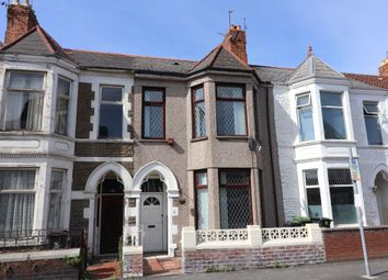 Thumbnail 4 bed terraced house for sale in Brunswick Street, Canton, Cardiff